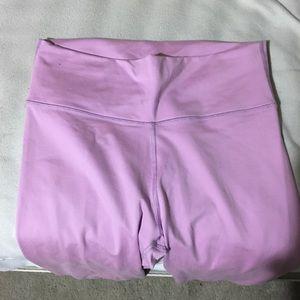 Fabletics 7/8 Pink Leggings
